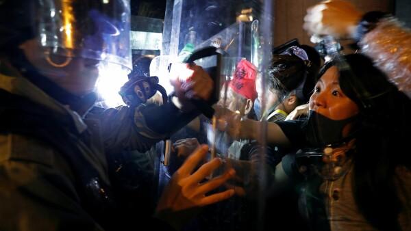 Manifestaciones Hong Kong.