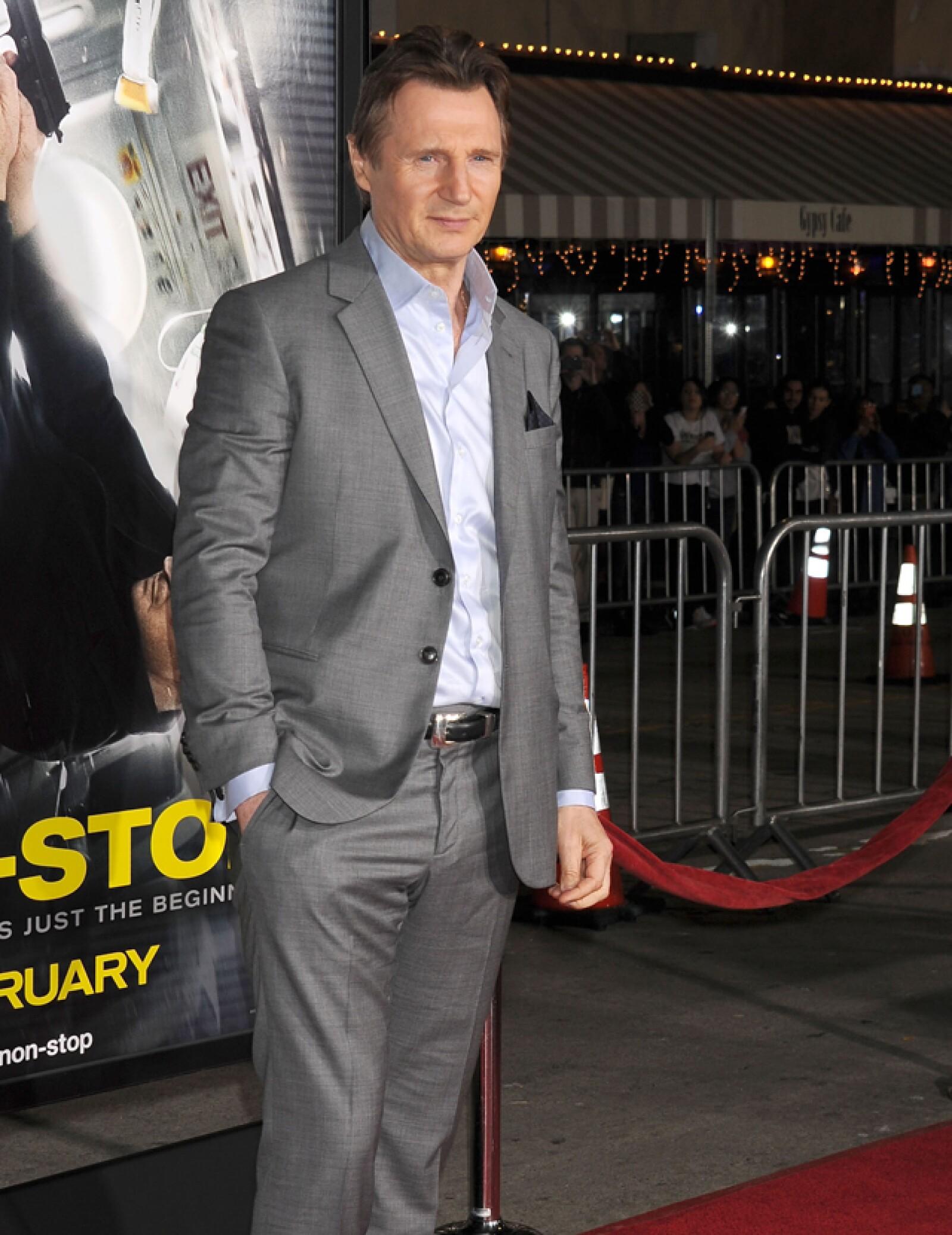 Liam Neeson, 62 años.