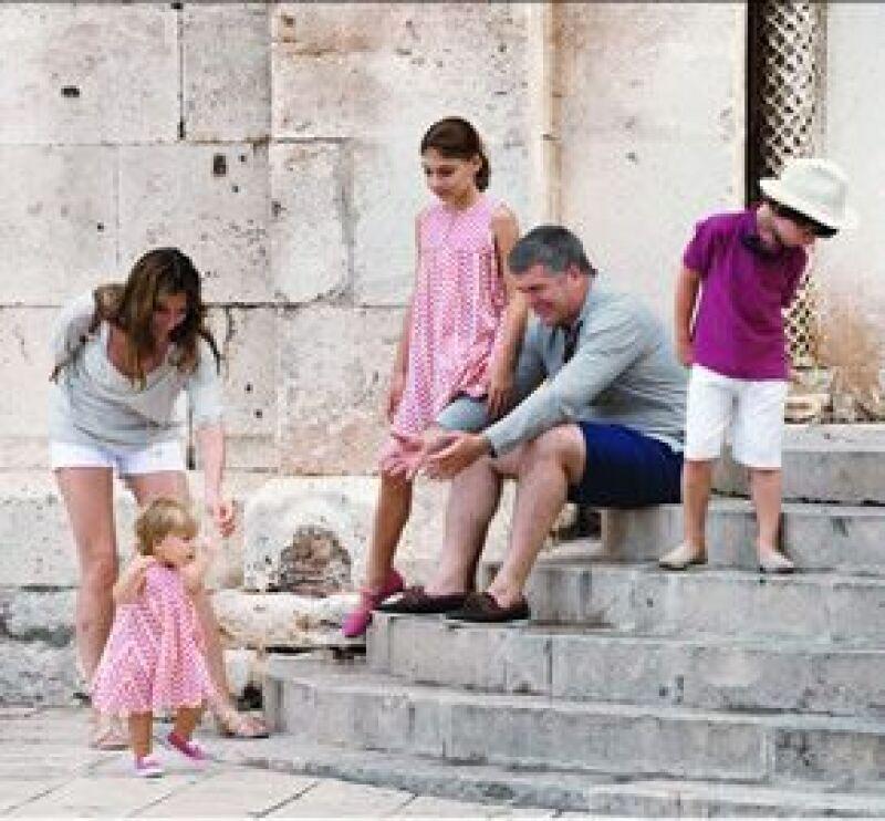 La ex Miss México y su esposo, el empresario español Juan Villalonga, pasaron unos días en Trogir.