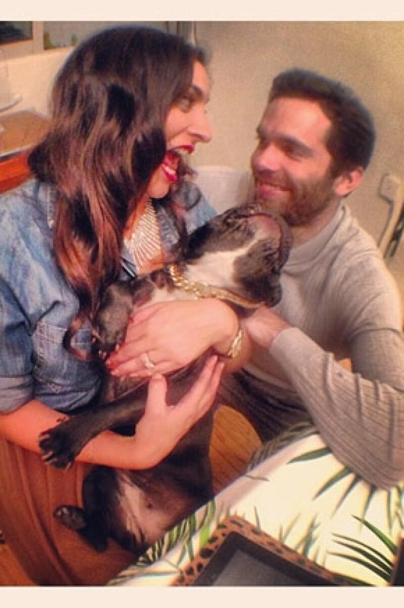 Una vez que finalicen las grabaciones de la telenovela `Corazón Indomable´, la actriz y su esposo Alejandro Amaya se irán a Europa por un tiempo.