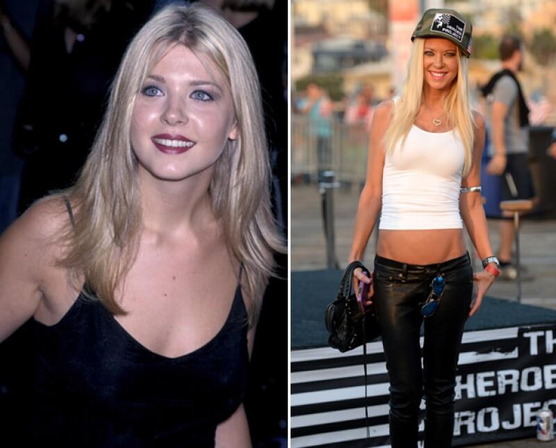 El antes y después de Tara Reid.