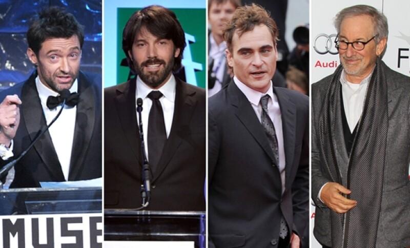 Entre los nominados se encuentran actores como Hugh Jackman, Joaquin Phoenix, Meryl Streep, Anne Hathway, Emily Blunt y el director Steven Spielberg, en la terna junto a Ben Affleck.