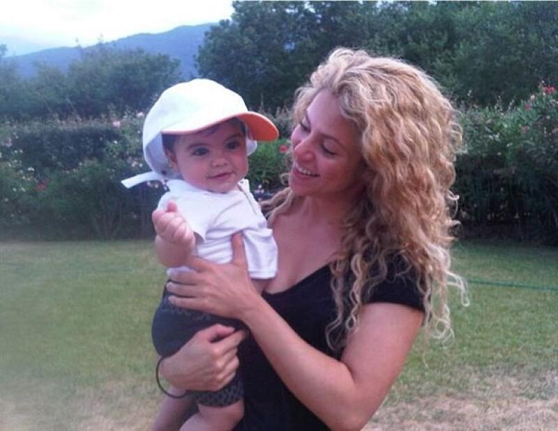 No cabe duda que Milan ha traído tranquilidad a la vida de Shakira.