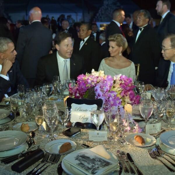 Enrique Peña Nieto en la cena de estado