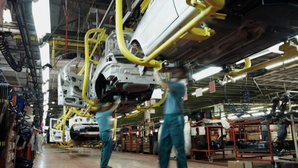 Producción de autos