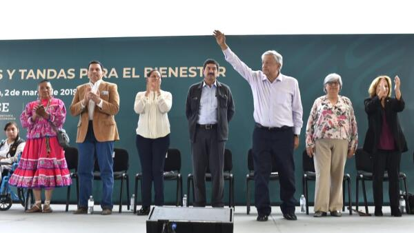 AMLO en Chihuahua