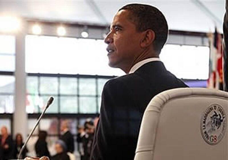 El presidente de EU, Barack Obama, y las naciones industrializadas han pactado una reducción en la emisión de gases invernaderos para 2050. (Foto: AP)