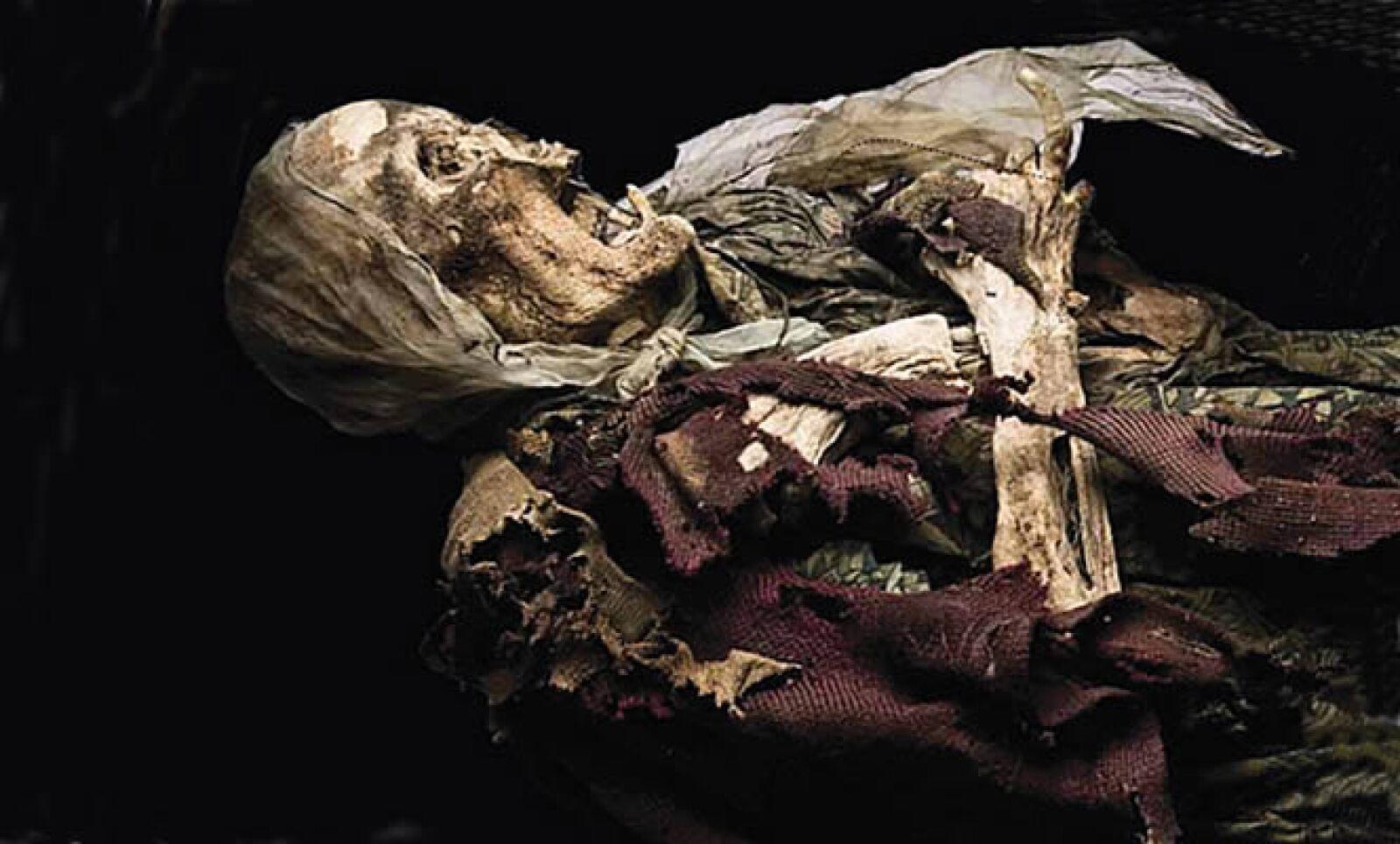 La muestra alberga unas 36 momias de Guanajuato y Celaya, está disponible desde el 3 de septiembre y finalizará en febrero del 2010.