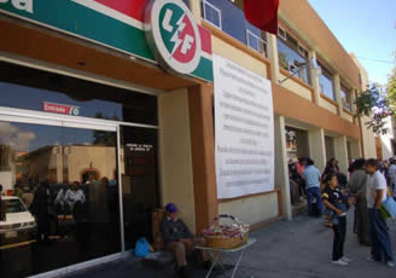 El Gobierno mexicano defendió la extinción de Luz y Fuerza del Centro. (Foto: NTX)