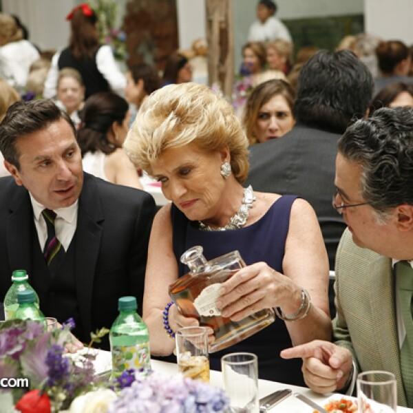 Rafael Micha, Viviana Corcuera y Martín Olavarrieta