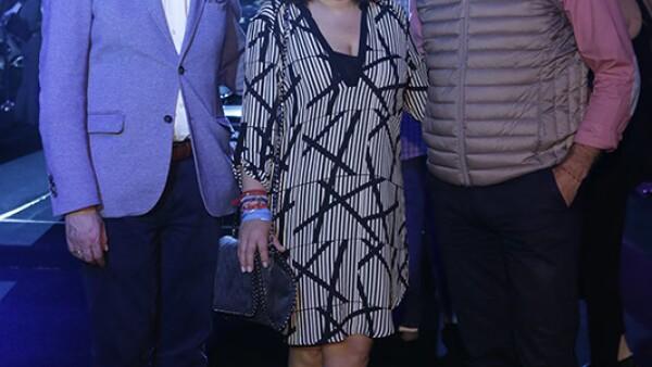 Rafael Molano,Karina Balderas y Enrique Sánchez Armas
