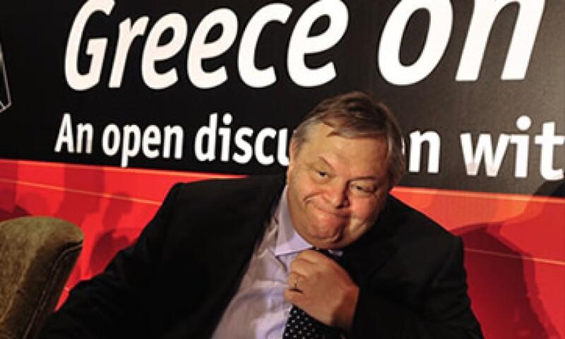 El ministro de Finanzas griego dijo que el país no es problema central de la zona euro. (Foto: Cortesía CNNMoney)