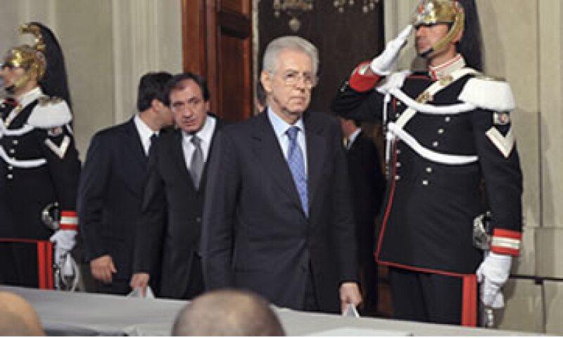 El nuevo primer ministro italiano, Mario Monti, inició la formación de su Gobierno este lunes. (Foto: Reuters)