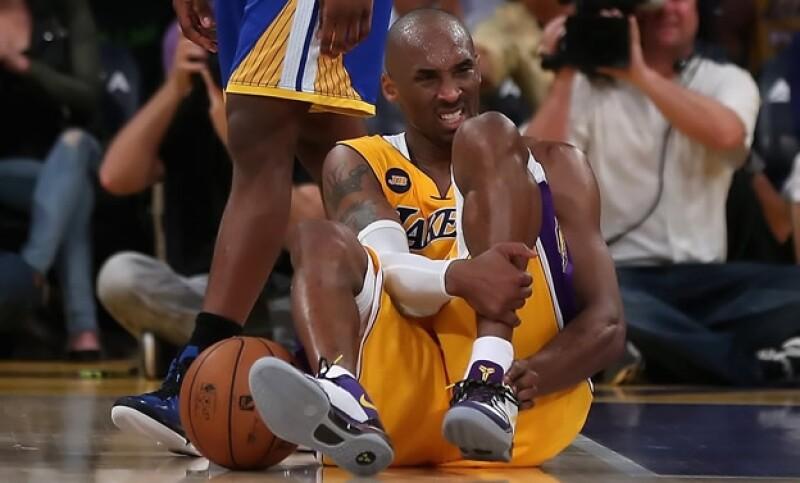 Kobe Bryant lesión