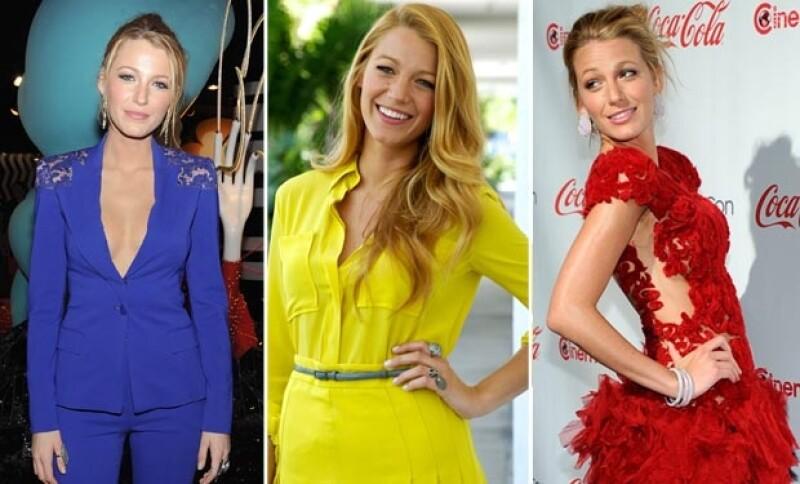 No importa el color que la actriz elija, su tono de piel le favorece con cualquiera de ellos.