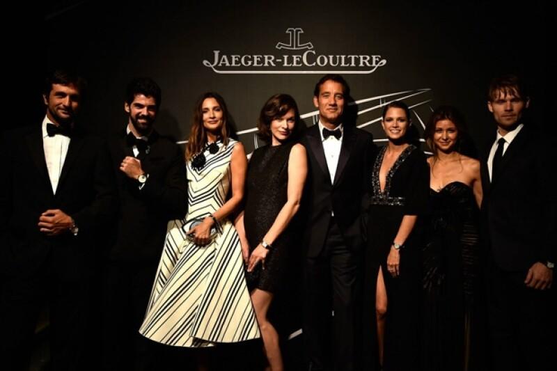 Invitados a la gala anual de la marca de relojes patrocinadora del Festival Internacional de Cine de Venecia.