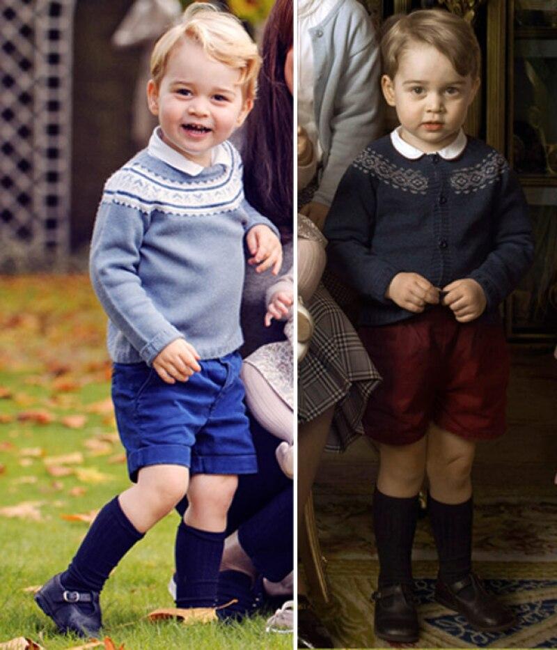 ¿Has notado que tanto baby George como la princesa Charlotte siempre usan la misma ropa? Pues hay una explicación para ello.