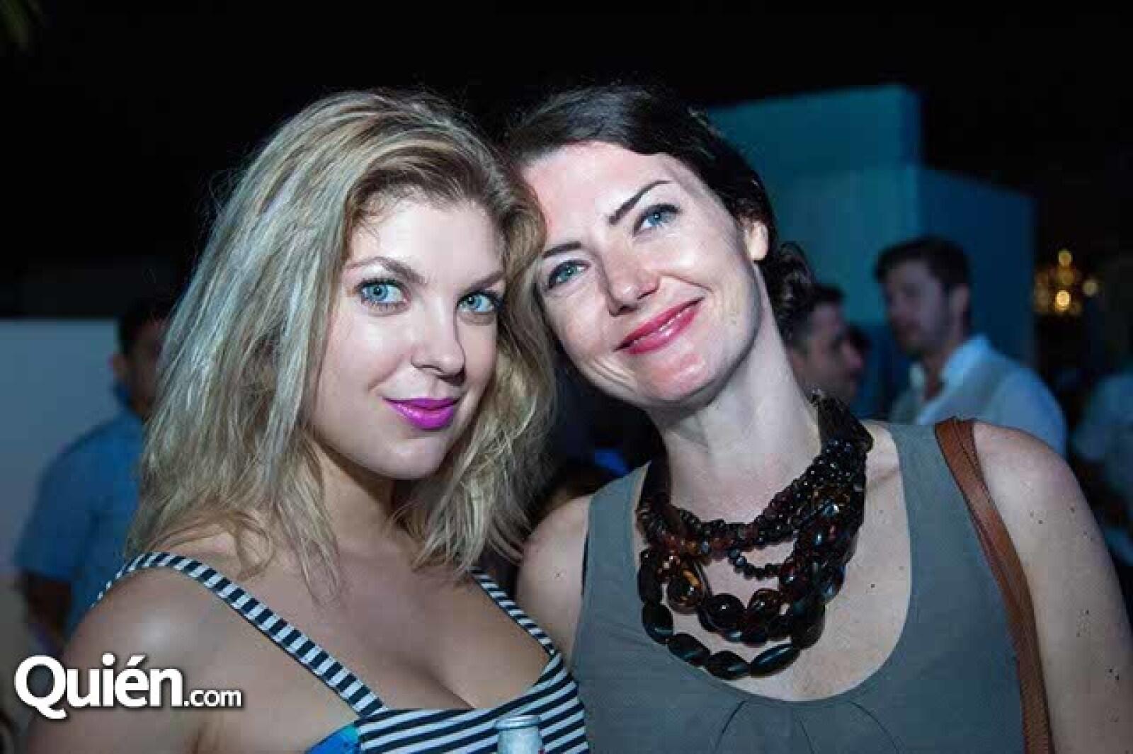 Viktoria Gudylina y Julie Adrien
