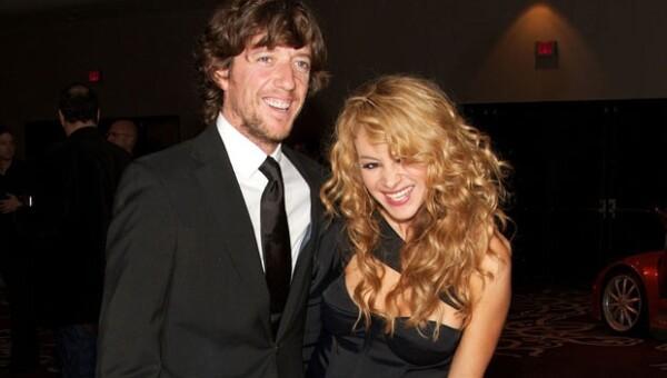 La pareja está feliz con el nacimiento de Andrea Nicolás.