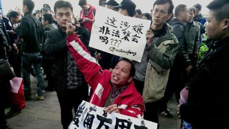 protesta china censura medios