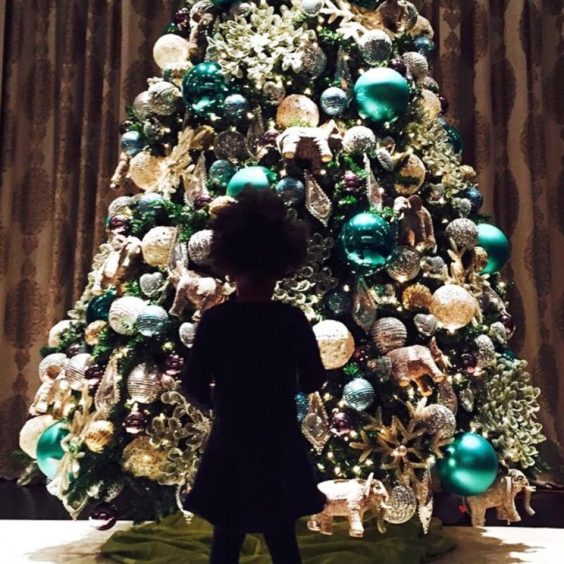 La tapatía presumió en su cuenta de Instagram que ella y sus hijas Jacky y Carolina, ya colocaron su árbol de navidad para recibir la emocionante temporada de fiestas decembrinas.