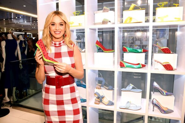 Katy Perry Celebrates Launch Of Her Spring 2019 Footwear Line For Katy Perry Collections In NYC