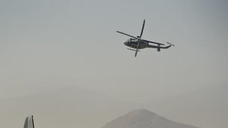 El tipo de helicóptero que desapareció al norte de Chile este miércoles con cuatro personas abordo