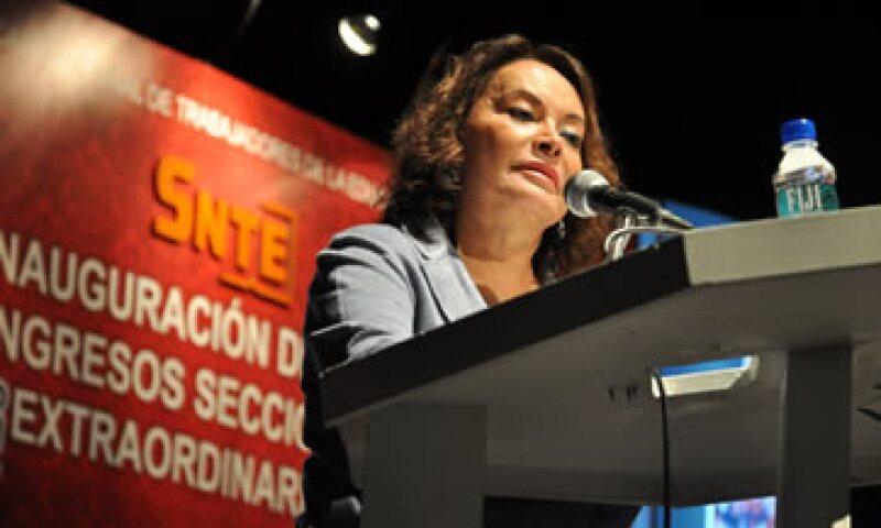 Este martes, la Procuraduría General de la República detuvo a Elba Esther Gordillo. (Foto: Notimex)