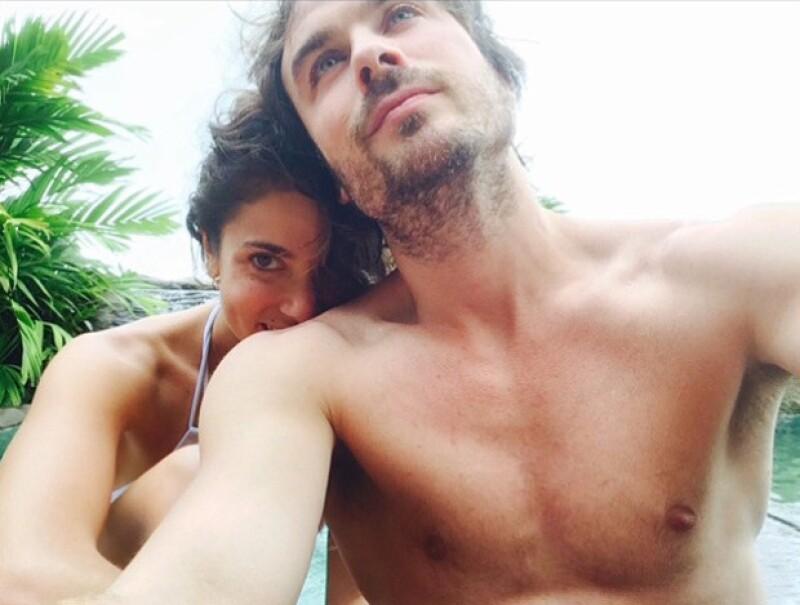 Durante su paso por Brasil, la hot couple causó revuelo durante la convención del elenco de Vampire Diaries.