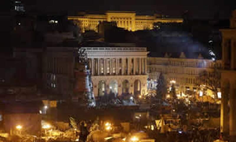 Los manifestantes han ocupado el centro de Kiev por casi tres meses desde que el presidente Yanukovich rechazó un acuerdo comercial con la UE. (Foto: Reuters)