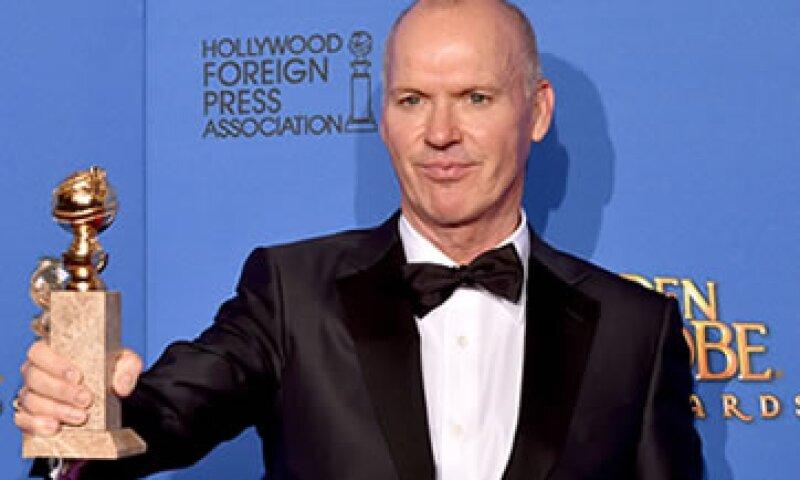 Michael Keaton obtuvo el Globo de Oro a Mejor actor en una película de Comedia o Musical. (Foto: Getty Images)