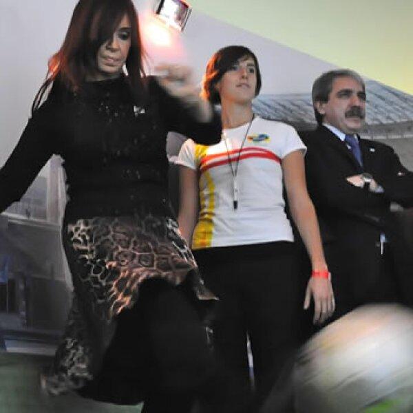 La presidenta de Argentina, Cristina Fernández