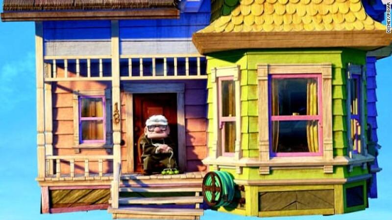 La Colorida Casa De Up Será El Nuevo Hogar De Una Familia En Eu