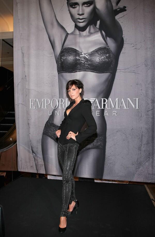 Victoria Beckham Reveals New Emporio Armani Underwear Campaign