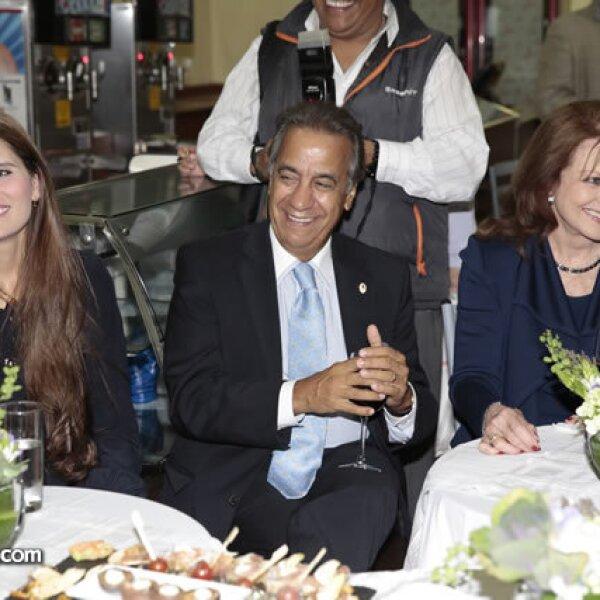 Sandy Rincón,Miguel Rincón,Christiane Magnani