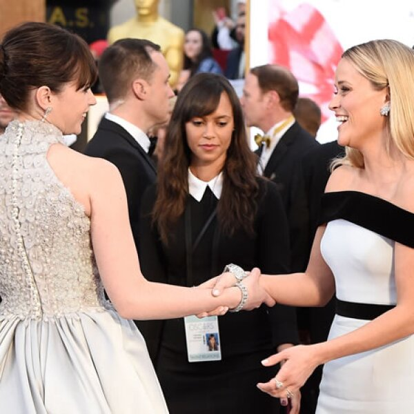 Felicity Jones, Reese Witherspoon.