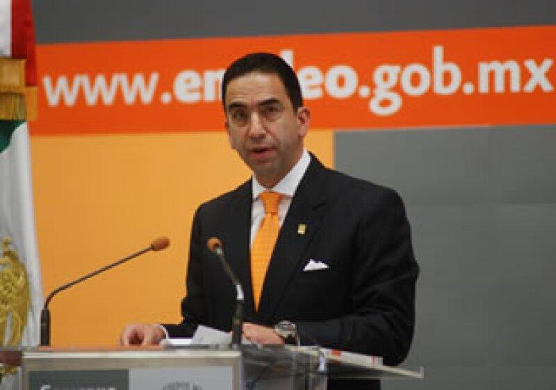 Javier Lozano confirma la negativa de la toma de nota a Martín Esparza. (Foto: Notimex)