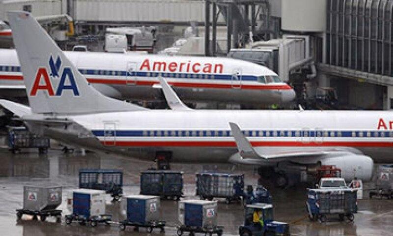 AMR Copr., matriz de American Airlines no es una propiedad atractiva para una adquisición, dada su desventaja en materia de costos. (Foto: Cortesía CNNMoney)