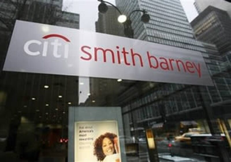 Citigroup se vio beneficiado por su emprendimiento con Morgan Stanley, a través de Smith Barney. (AP)