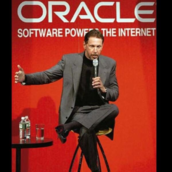 Oracle, la mayor compañía de bases de datos ha llevado a Lawrence Ellison a contar con una fortuna de 22,500 mdd.