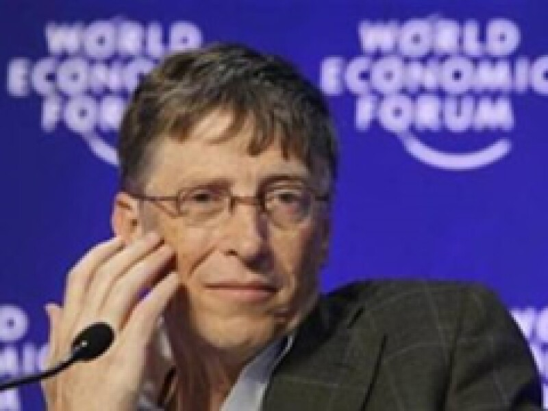 Bill Gates dijo que el mundo podría tener una vacuna para enfrentar al virus del Sida en unos 15 años. (Archivo)