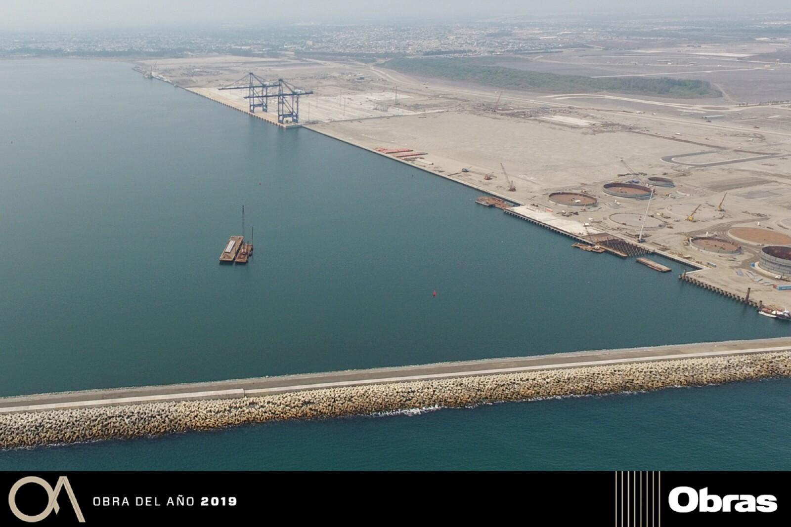 Primera Fase de Modernización del Puerto de Veracruz, Infraestructura Vial y Logística