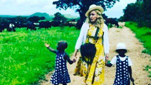 Madonna y sus hijas