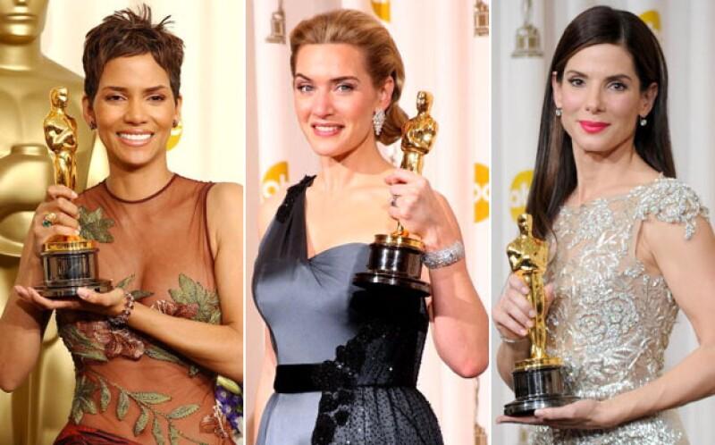 Halle Berry ganó un Oscar en 2002 y tres años después se divorció de Eric Benét. Kate Winslet fue la Mejor Actriz en 2009 y dos años después se separó de Sam Mendes. Sandra Bullock ganó un Oscar en 2010 y ese mismo año se divorció de Jesse James.