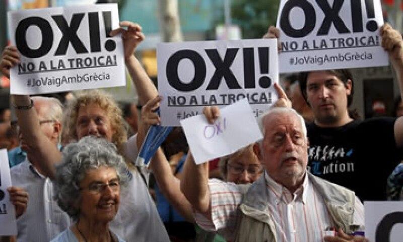 Grecia decidiría si se mantiene en el euro el domingo, según algunos analistas. (Foto: Reuters )