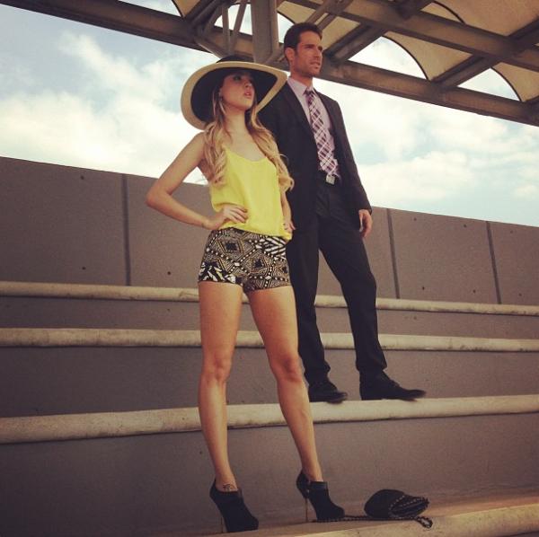 Entre 2012 y 2013 Eiza protagonizó la exitosa telenovela `Amores Verdaderos´.