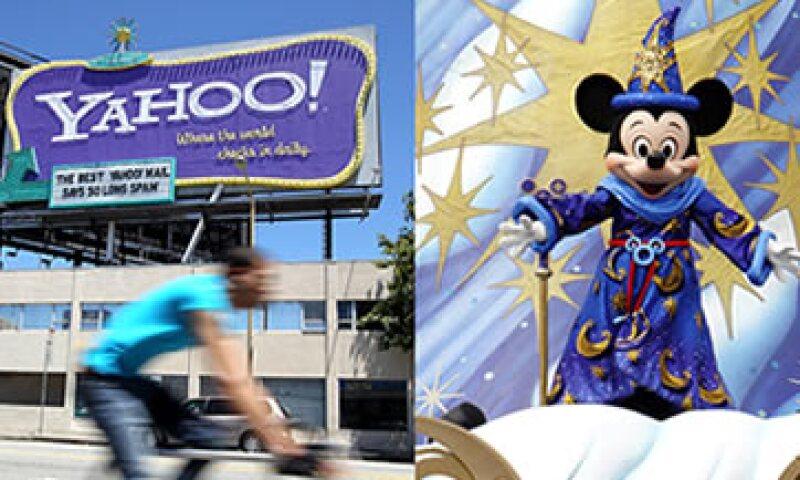 Disney, AOL y Goldman Sachs son algunas firmas supuestamente interesadas en comprar Yahoo. (Foto: Cortesía CNNMoney)