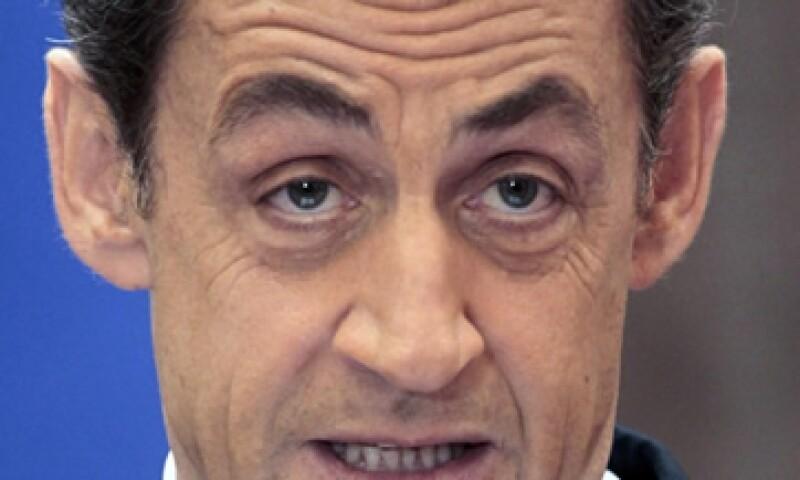 En Francia, un presidente no puede ser investigado hasta un mes después de dejar el poder, un privilegio que terminará a mediados de junio para Sarkozy. (Archivo)