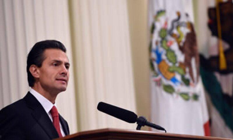 La Presidencia creó un micrositio que concentra cifras y videos sobre el próximo Informe de Gobierno. (Foto: Notimex)