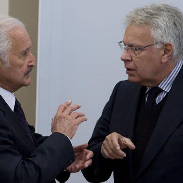 El 17 de noviembre de 2008, el escritor de 'La muerte de Artemio Cruz' se reunió con el entonces presidente de España, Felipe González.
